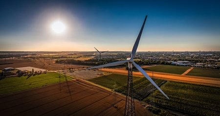 Windkraftwerke bei Sechtem