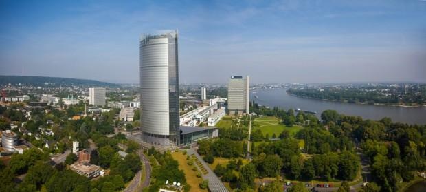 Bonner Posttower und Langer Eugen (UN-Klimasekretariat)