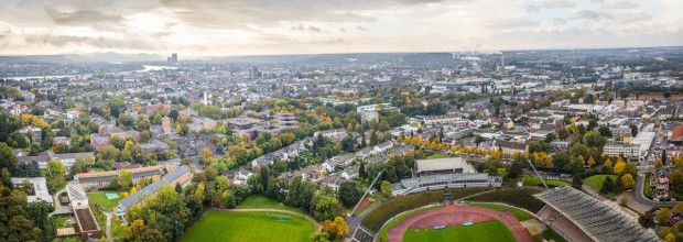 Bonnpanorama hinter dem Sportpark-Nord, Home of the Bonner SC / ©Volker Lannert