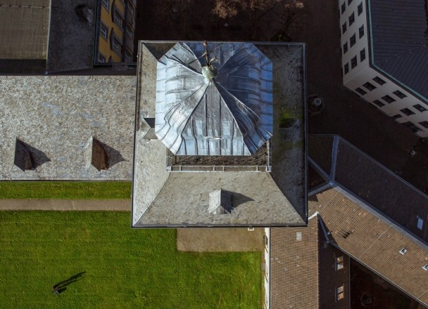 Turm der Bonner Universitaet von
