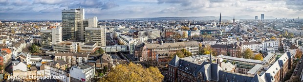 Stadthaus mit Bonn Panorama