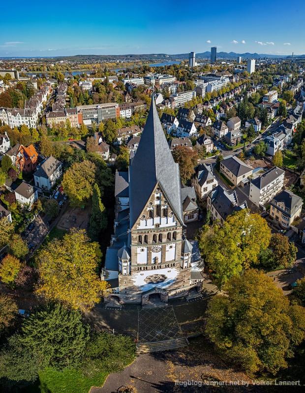 Elisabethkirche in der Bonner Suedstadt