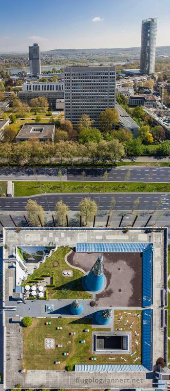 Ausstellung auf dem Dach der KAH