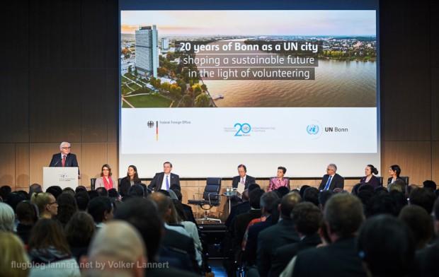 20 Jahre Bonn als UN-Standort