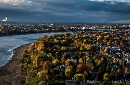 Herbststimmungen und Luftbilder am 02.11.2016