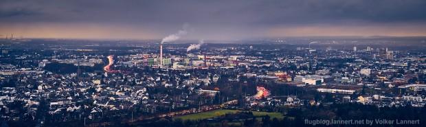Blick vom Kreuzberg auf Bonn