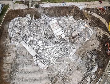 Das gesprengte Bonn-Center am 19.03.2017