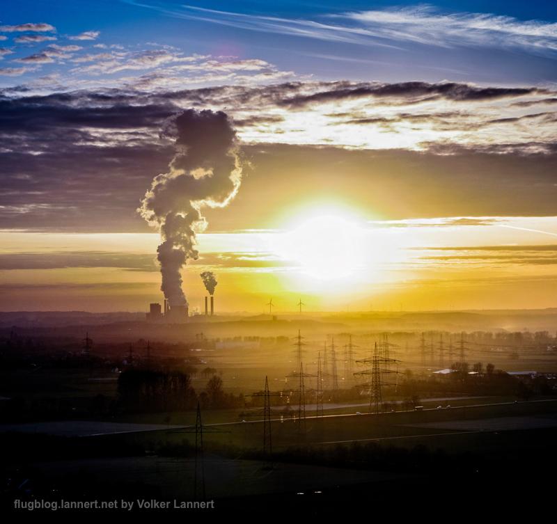 Kohlekraftwerk Weisweiler bei Aachen