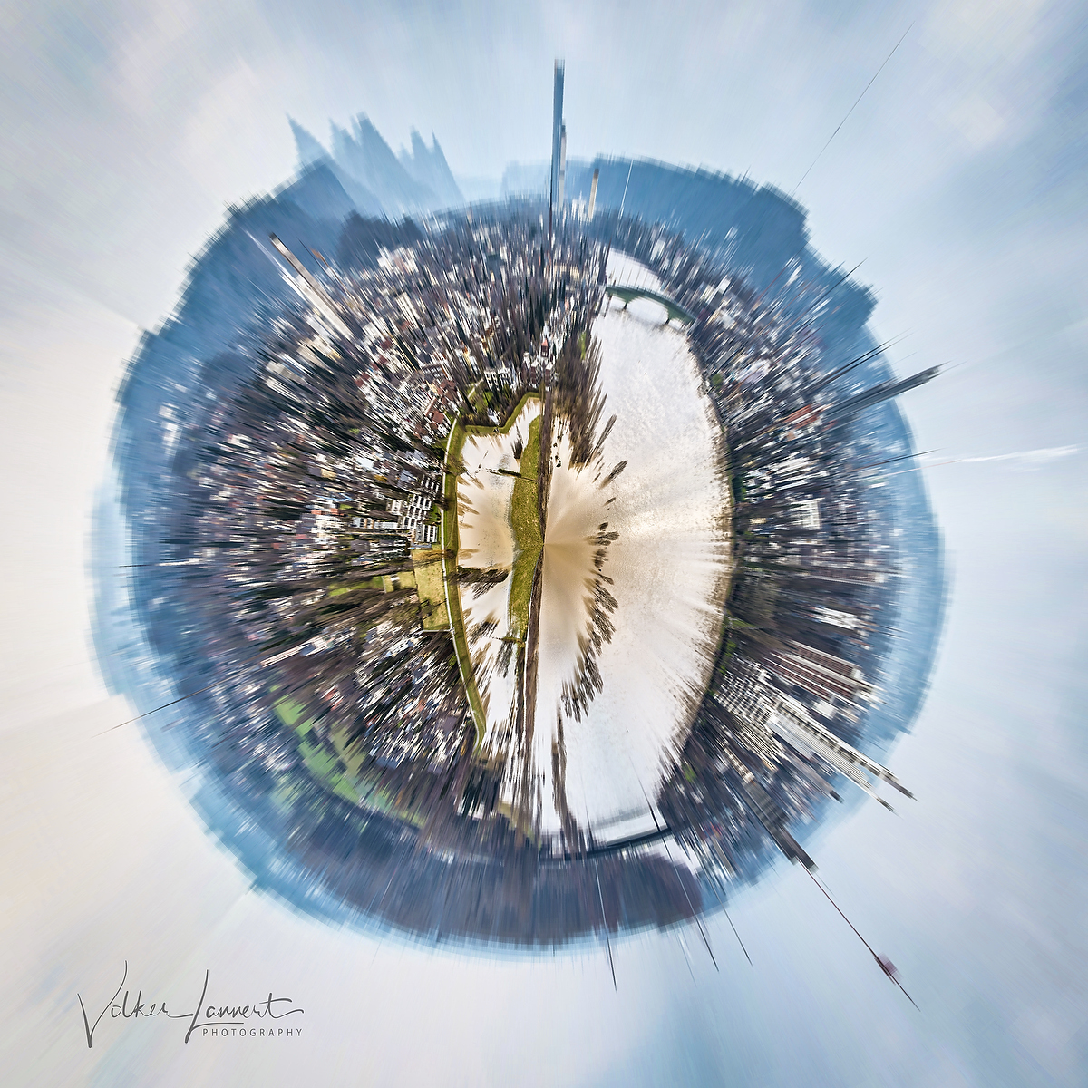 Big City - Tiny Planet